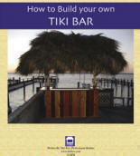 Picture of ebook on How to Build Your Own Tiki Bar